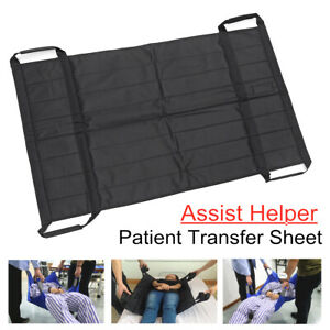 Patient Lift Sling Slide Sheet Hospital Bed Transfer Board Aid Mobility Pad H2
