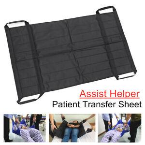Patient Lift Sling Slide Sheet Hospital Bed Transfer Board Aid Mobility   D1 .