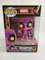 Funko POP! Marvel: Exclusive X-Men Classic Deadpool Blacklight Bobble-Head #801