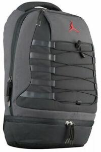 NIKE AIR JORDAN RETRO 10 Gray/Black/Orange  Backpack 9A0037-G3X NWT Sz LARGE