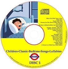 Bedtime Songs Lullabies Sleeptime Babies Kids Soothing✅(MD124)Children Classic