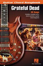 Grateful Dead Guitar Chord Songbook 30 Songs! Book NEW!