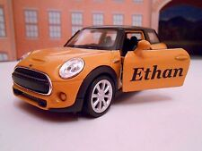PERSONALISED **ANY NAME** MINI Model Toy Car boy girl Birthday Gift NEW & BOXED
