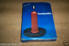ANCIENNE LAMPE CAMPING A GAZ MARQUE TOTAL LA LUMINETTE PERIODE 1960