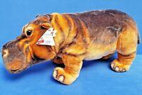 KAUFMANN NILPFERD STOFFTIER 55 CM WEICH KUSCHELTIER HIPPO FLUSSPFERD