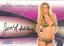 2008  JEN SIBLEY BENCHWARMER AUTO CARD FREE SHIPPING