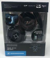 New! SENNHEISER Active Noise Cancelling Wireless HEADPHONES MM 550-X Headset