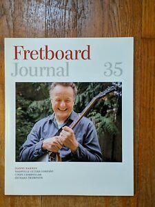 Fretboard Journal - Volume 35 (2015, featuring Danny Barnes & Richard Thompson)