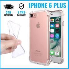 Transparent Gel Clear Bumper Case Cover Cas Etui Coque Silicon For iPhone 6 Plus