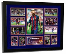 Lionel Messi Signed FC Barcelona Limited Edition Memorabilia