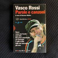Vasco Rossi - Parole e canzoni DVD + libro A cura di Vincenzo Mollica Einaudi