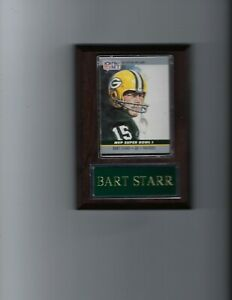 BART STARR PLAQUE GREEN BAY PACKERS FOOTBALL NFL   C