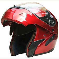 Modular Flip-up-Motorcycle-Helmet-Dual visor S18 +Free Chrome Face Shields