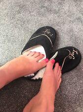 Black Slippers