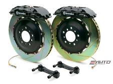 Brembo Rear GT BBK Brake 4piston Black 380x32 Slot Disc Rotor Hummer H2 03-07
