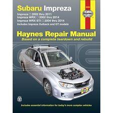 Haynes Subaru Impreza, Impreza WRX & Impreza WRX STI Petrol (2002-2014) (89080)