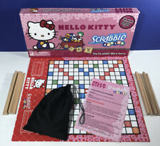 Sanrio Scrabble Hello Kitty Junior Classic Word Game 2 Sided Board Grow With Me