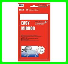 "Universal Car Door / Wing Mirror Glass Replacement 5"" x 8""  [PM01]"
