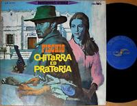 ♪FISCHIO CHITARRA ED PRATERIA '67 LP japan spaghetti western ost dj funk breaks