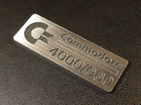 Commodore Amiga 4000 060 Label / Logo / Sticker / Badge 42 x 15 mm [271d]