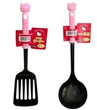 SANRIO Hello Kitty KAWAII Nylon Cooking Turner & Ladle Made in JAPAN Quality