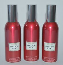 3 BATH & BODY WORKS CINNAMON STICK CONCENTRATED ROOM SPRAY PERFUME FRESHENER RED