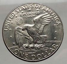 1978  President Eisenhower Apollo 11 Moon Landing Dollar USA Coin Denver  i46237