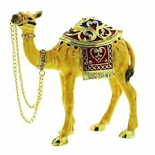 CAMEL TRINKET BOX, Figurine, Gift, Ornament, Collectable, Egyptian Keepsake
