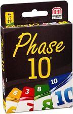 Phase 10-Kartenspiele für 2 Spieler mit Strategie-Thema