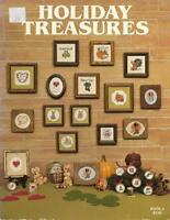 Holiday Treasures Bk 2 1982 Mary Frances Designs for Counted Cross Stitch