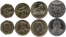 Tansania 50, 100, 200, 500 Shilingi 2008-2014