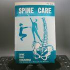 Vintage SPINE CARE PUBLISHINGS Paperback BOOKLET Glenn D Braatz D.C. 1962 ILLUS