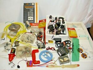 RC GAS & ELECTRIC AIRPLANE LARGE PARTS & PIECE LOT