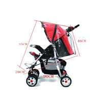 Universal Baby Car Rain Cover For Buggy Pushchair Raincover Stroller Pram Covers