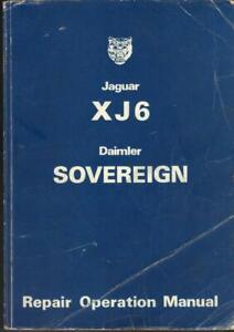 JAGUAR XJ6 SERIES 2,DAIMLER SOVEREIGN,3.4,4.2 1973-1978 FACTORY WORKSHOP MANUAL