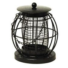 Mini Lantern Wild Bird Nut Feeder With Squirrel Guard Small Metal Cage BF044