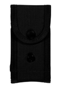 Bianchi Military Magazine Pouch, Black Size 3 Double Mag Pouch Holds 2 Magazines