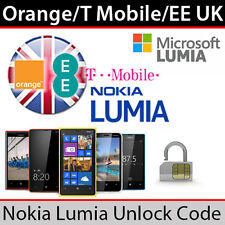 Orange/T Mobile/EE UK Microsoft Lumia Unlock Code