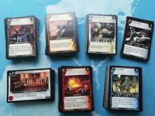 WARS tcg Common playset Incursion (404 cards total) German