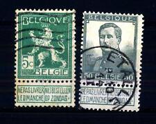 BELGIUM - BELGIO - 1912 - Leone del Belgio, Re Alberto I in uniforme