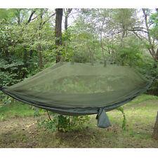 Snugpak Jungle Hamac avec construit en Moustiquaire militaire Camping Bushcraft