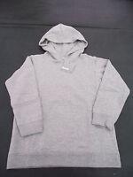 BNWT Feedback Brand Grey Marle Boy's Sz 4 Warm Windcheater Style Hoodie Top