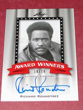 Pop Century Autograph Card: Richard Roundtree - Shaft - Se7en - Auto #10/10 Rare