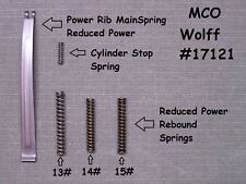 Wolff REDUCED TRIGGER PULL SPRING KIT for Smith & Wesson K L N  FRAME W17121/185