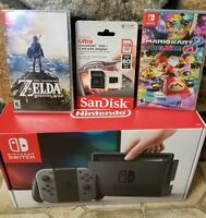 Nintendo Switch - 32GB Gray Console (with Gray Joy-Con)