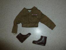 Vintage GI Joe 1964-1966 Army Military Police Jacket & Boots Set