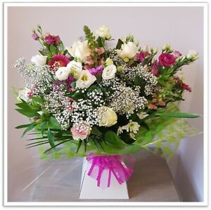 FRESH REAL FLOWERS  Delivered Botanica Bouquet includes Free Delivery