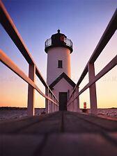 LIGHT HOUSE New England Spiaggia Foto art print poster foto bmp165a