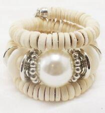 Cream FASHION Stretch Bracelet