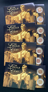 2009 - BICENTENNIAL PROGRAM COIN SET,THE LINCOLN CENT SET ISSUE #1 - #4!
